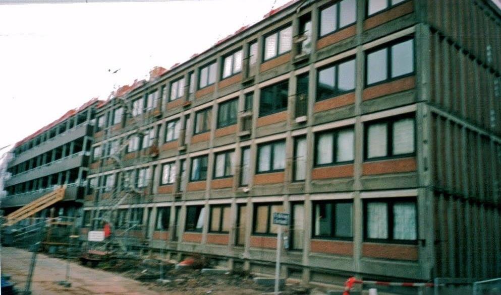 Gammel facade